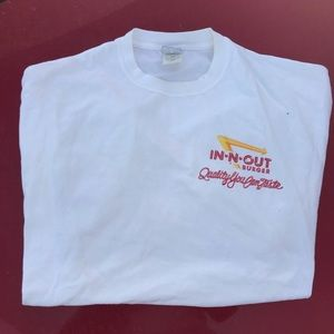 In-n-out graphic tee shirt
